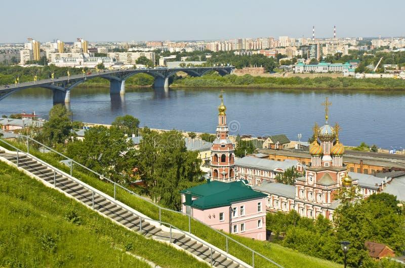 Download Nizhniy Novgorod, Rusland stock afbeelding. Afbeelding bestaande uit orthodox - 39118289