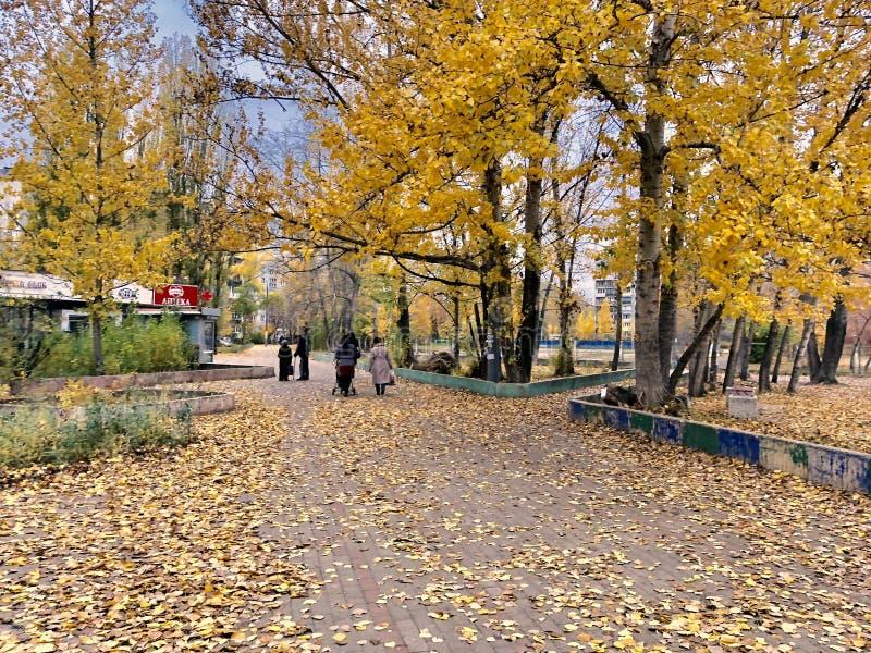 Nizhny Novgorod in het najaar, Russische Federatie royalty-vrije stock afbeeldingen
