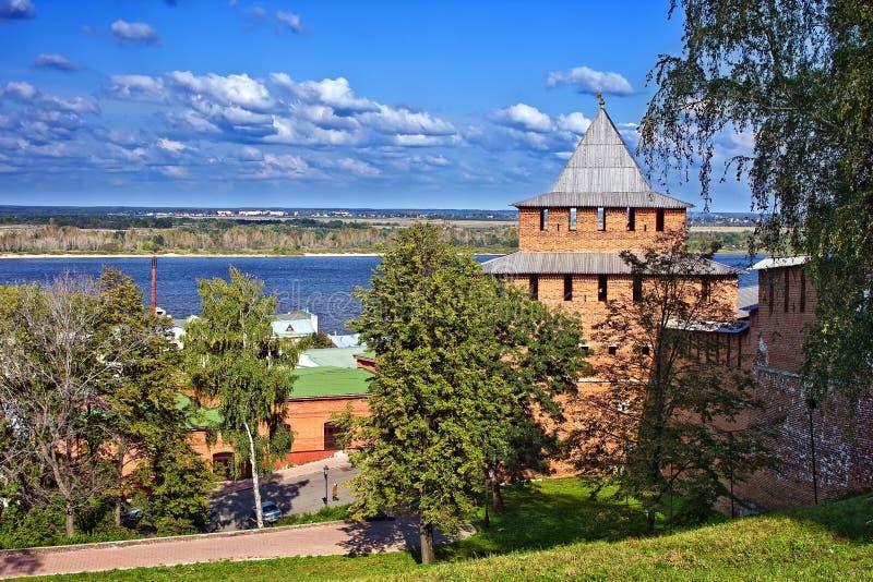 Nizhny Novgorod kremlin fotografía de archivo