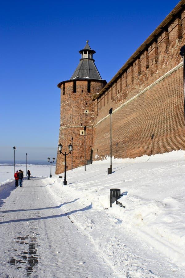 Nizhny Novgorod Kremlin fotografia de stock