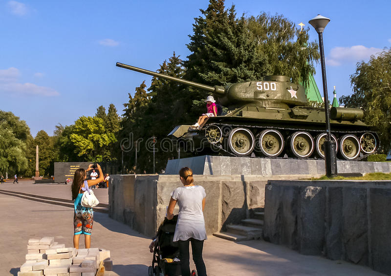 Nizhny Novgorod Kremlin lizenzfreies stockfoto