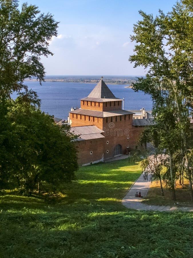 Nizhny Novgorod Kremlin lizenzfreie stockfotos