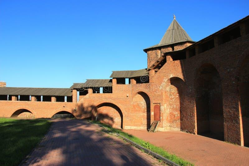 Nizhny Novgorod kremlin imagens de stock