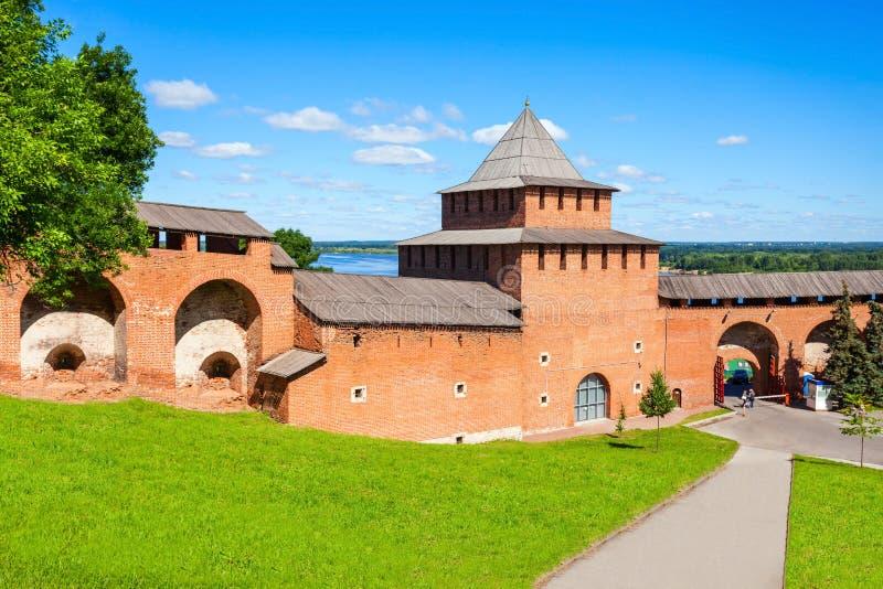 Nizhny Novgorod Kremlin zdjęcia stock