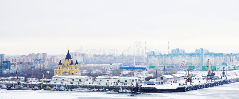 Nizhny Novgorod, Rusland royalty-vrije stock foto's