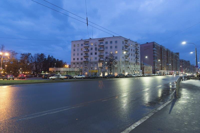 Nizhny Novgorod RYSSLAND - November 02 2015 _ arkivfoton