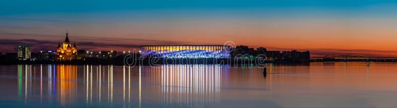 Nizhny Novgorod stadion arkivbild