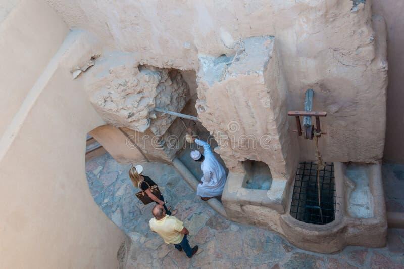 Nizwa堡垒,阿曼 免版税库存照片