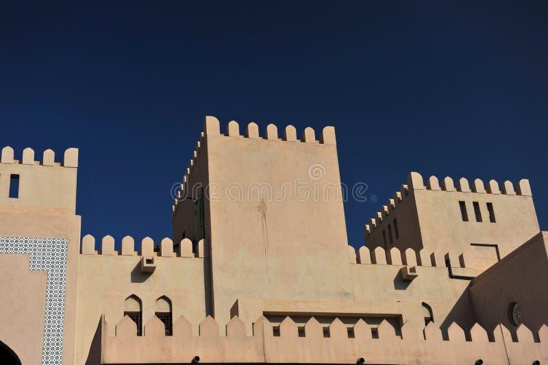 Nizwa Castle stock image