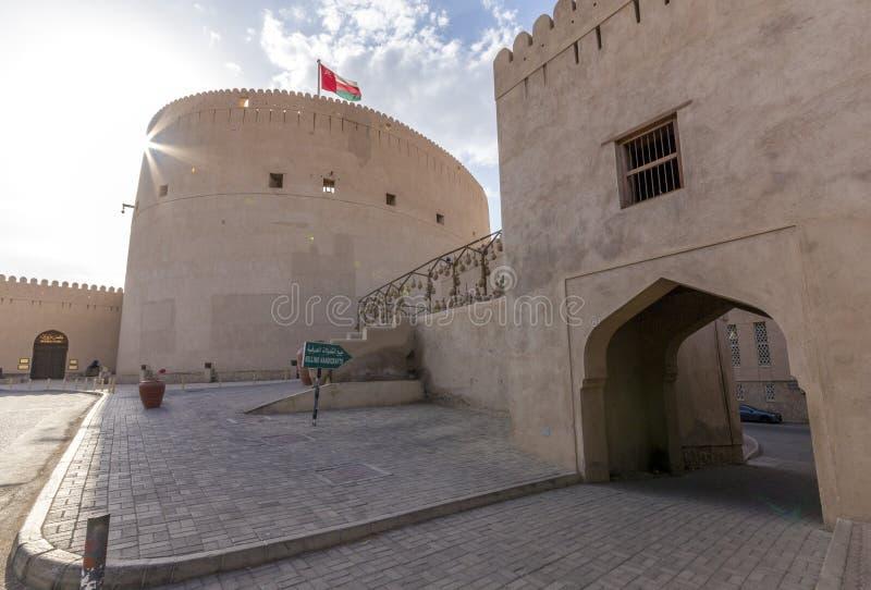 Nizwa castle royalty free stock photography