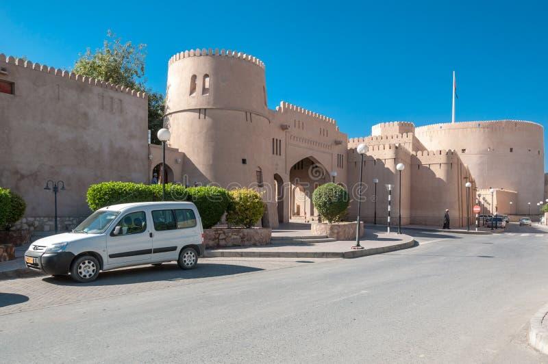 Nizwa-Fort, Oman stockfotografie