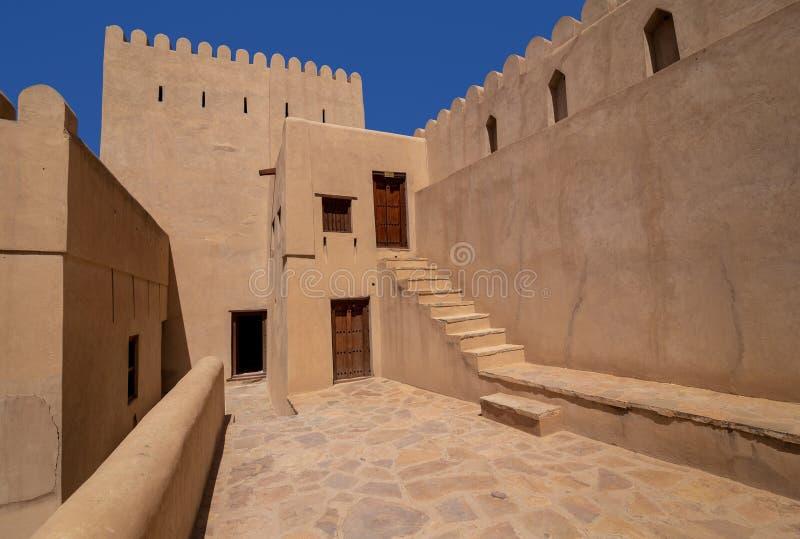 Nizwa-Fort, Oman lizenzfreie stockfotos
