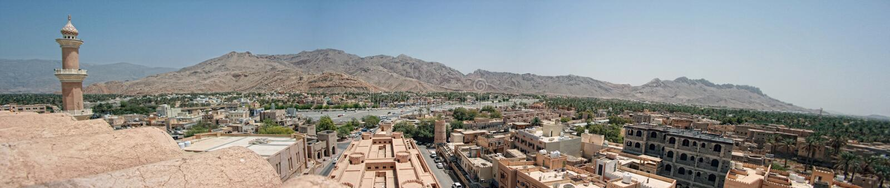 Nizwa, Oman obraz royalty free
