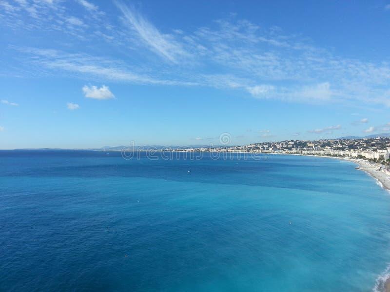 Nizza Nice Beautiful Sea View City Coast royalty free stock photography