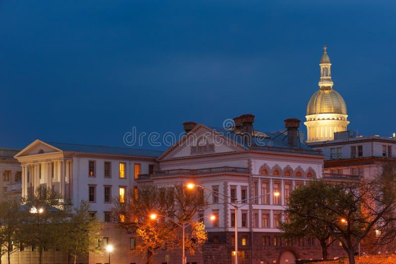 NJ State capitol stock photos