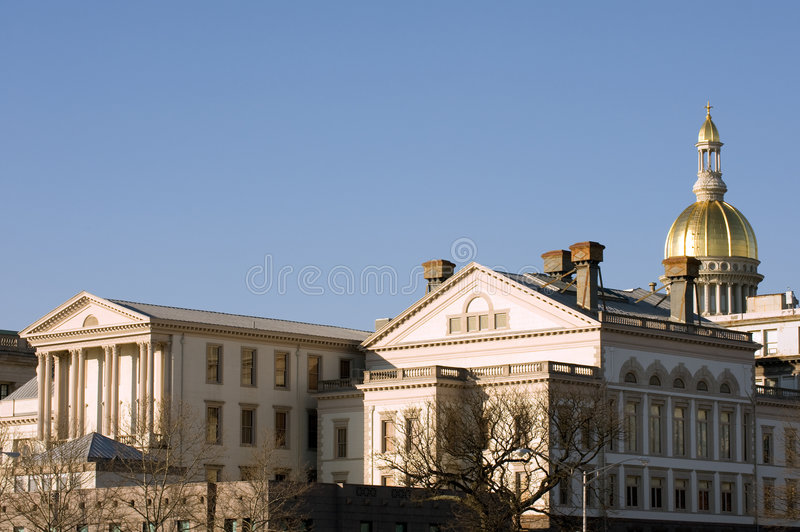NJ State House stock image