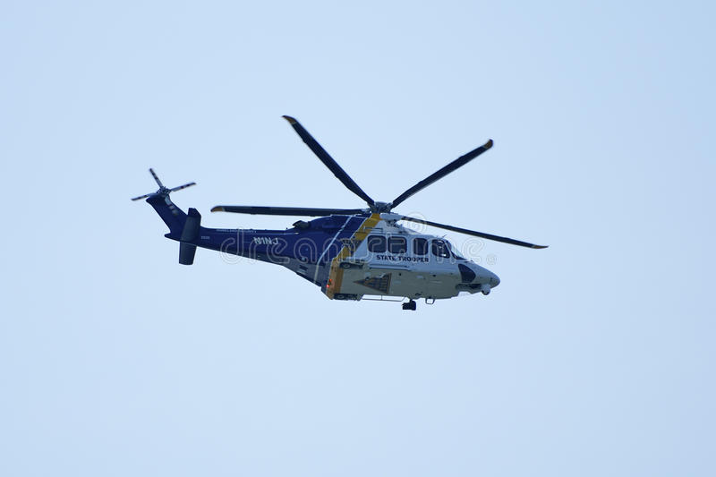 NJ State Police Helicopter Editorial Image