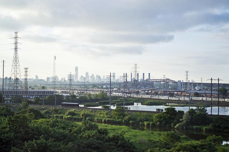 NJ Sumpf-Ansicht stockbild
