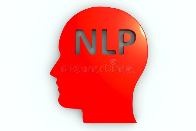 NLP stock illustratie