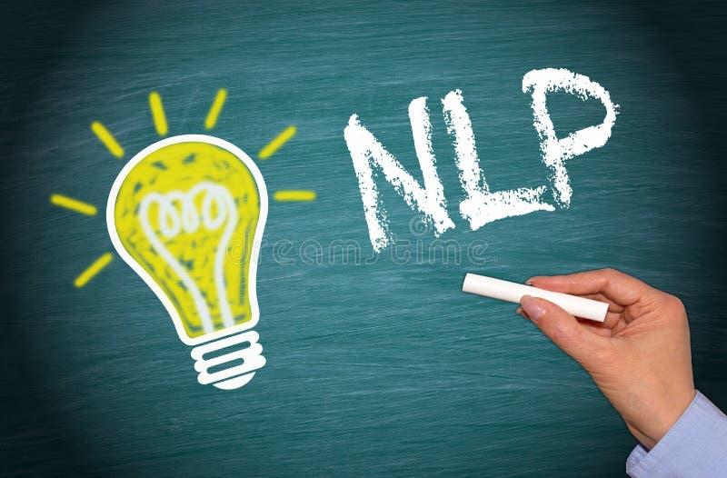 NLP - Neuro programmazione linguistica fotografia stock
