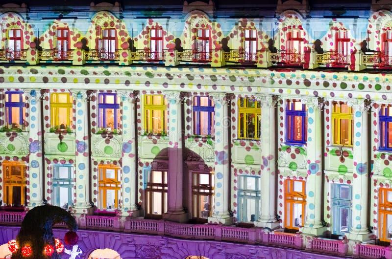 Noël à Bucarest (IV) photos stock