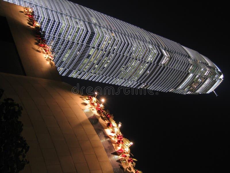 Noël à IFC images libres de droits