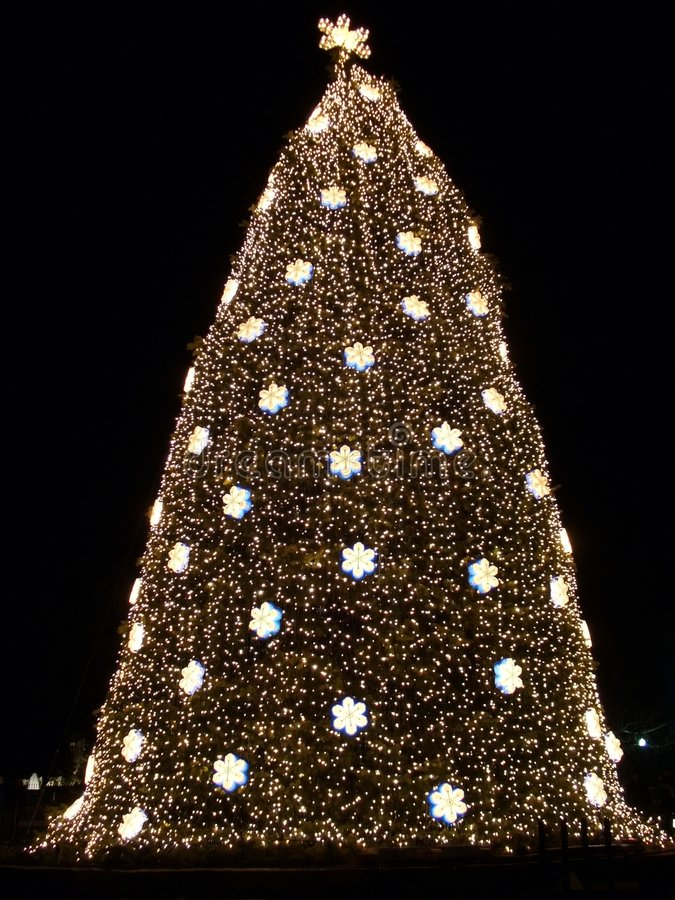 Noël à l'ellipse image stock