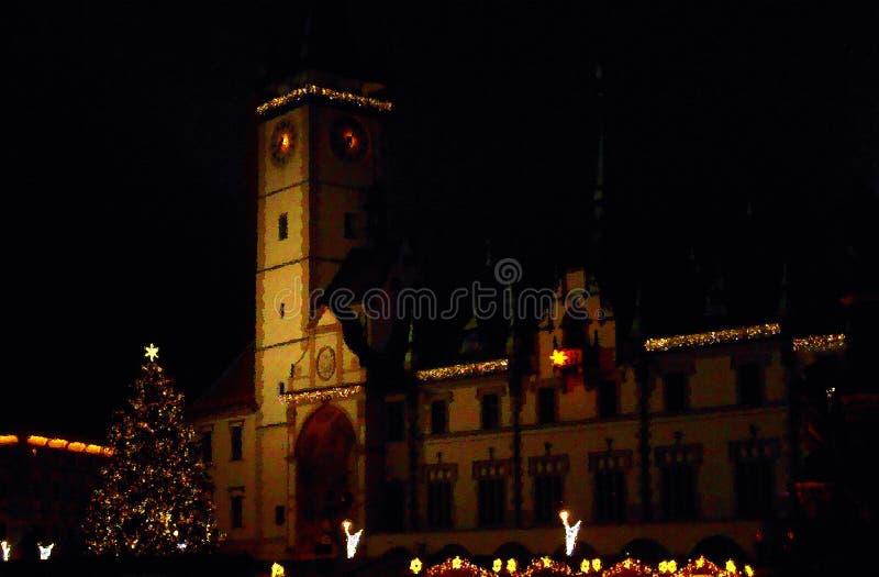 Noël à Olomouc images libres de droits