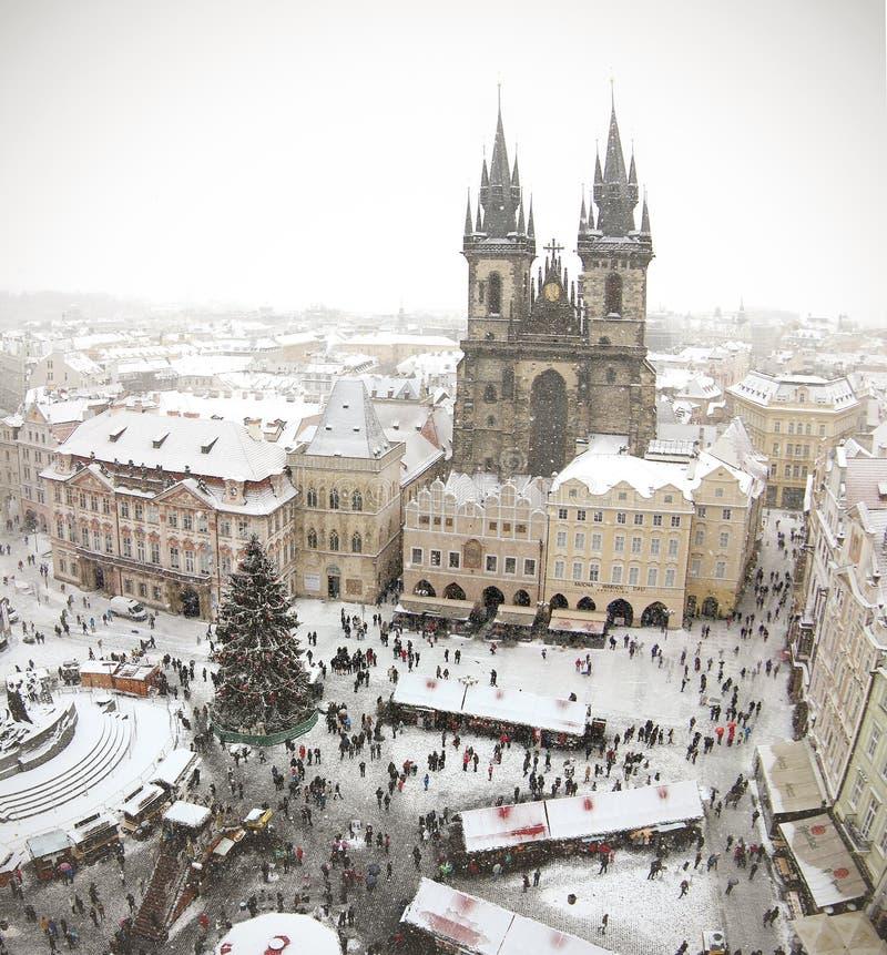 Noël 2015 à Prague photos libres de droits