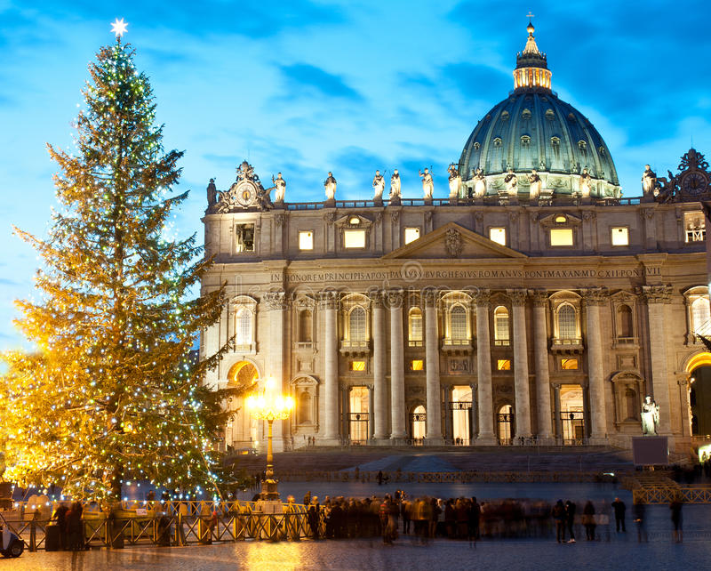 Noël à Rome image stock