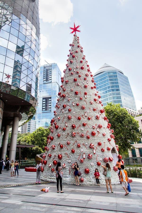 Noël à Singapour photographie stock libre de droits