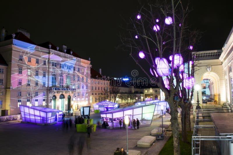 Noël à Vienne photos libres de droits