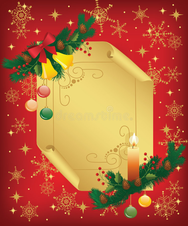 Noël background2, illustration stock