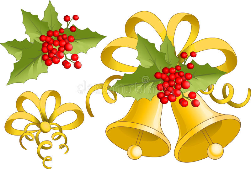Noël Bell illustration de vecteur