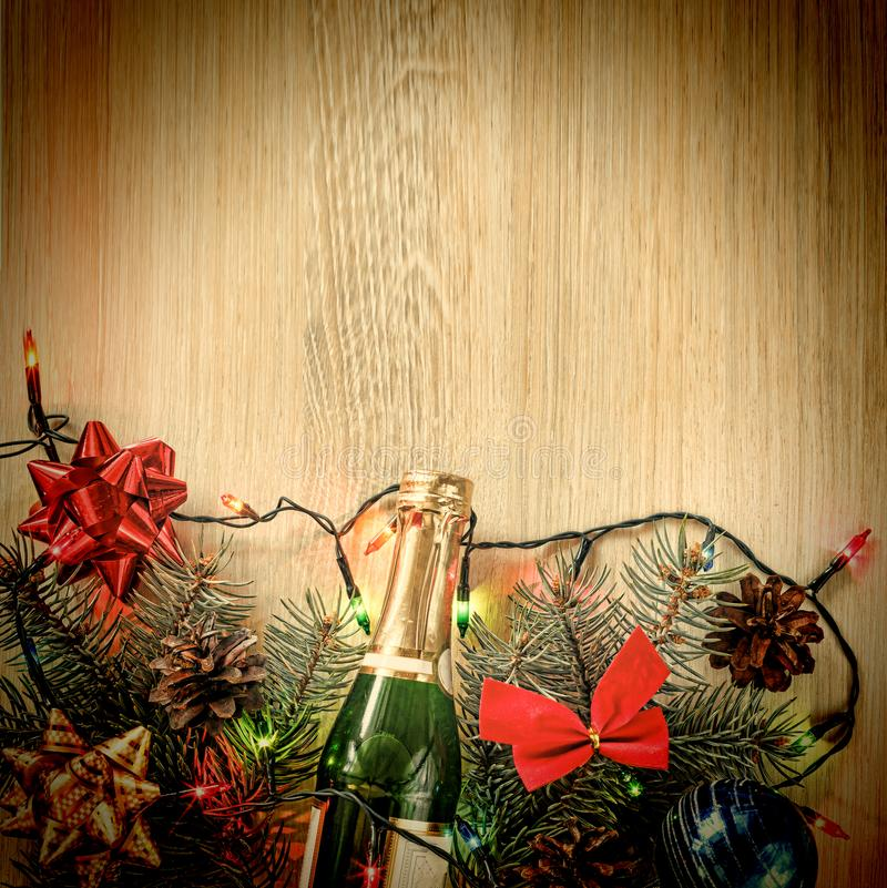 Noël, décoration, fond, vacances, nouvelle année photographie stock libre de droits