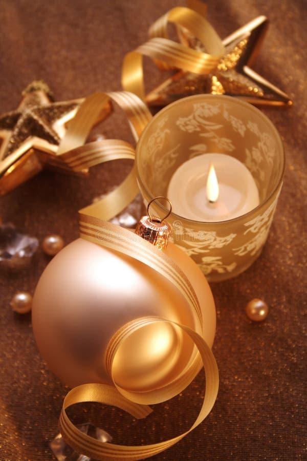 Noël d'or photos libres de droits