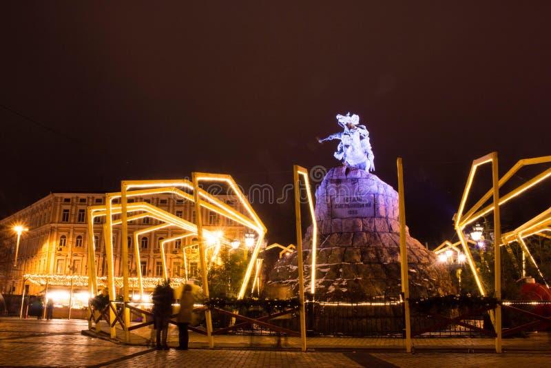 Noël dans Kyiv image stock