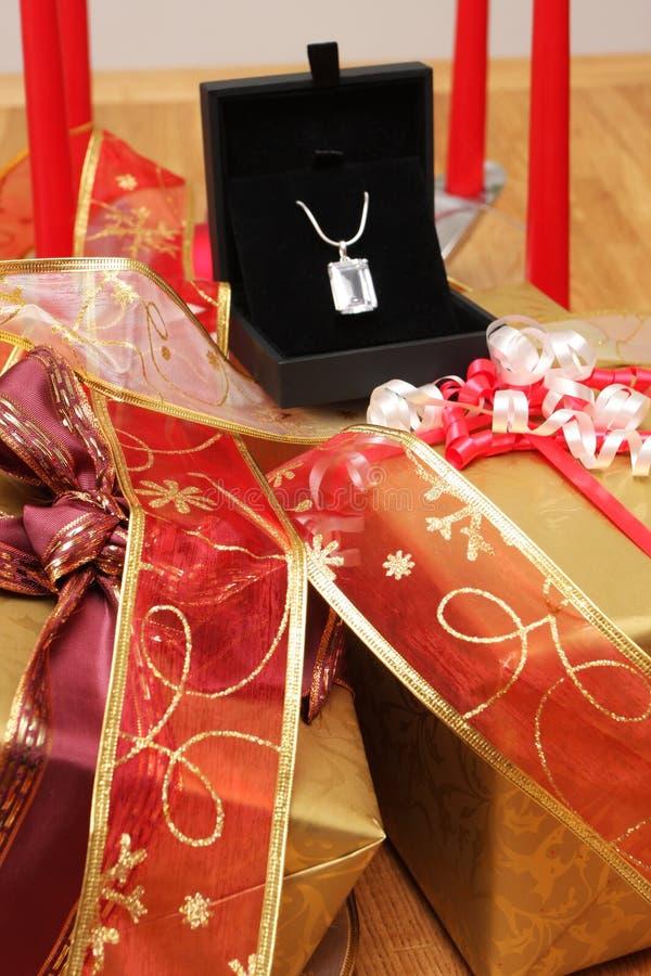 Noël de bijou photographie stock