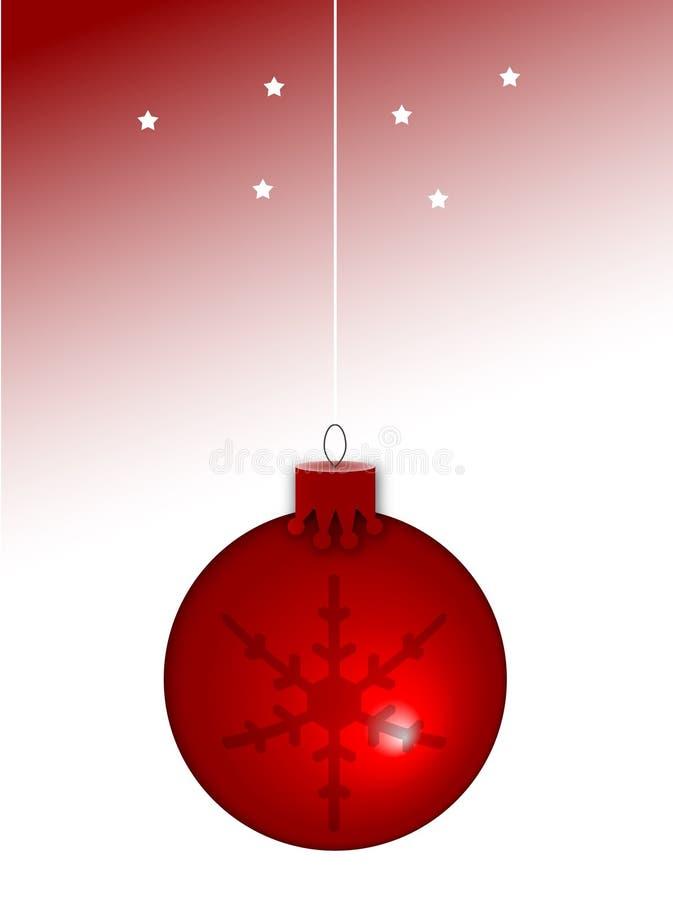 Noël de bille illustration libre de droits