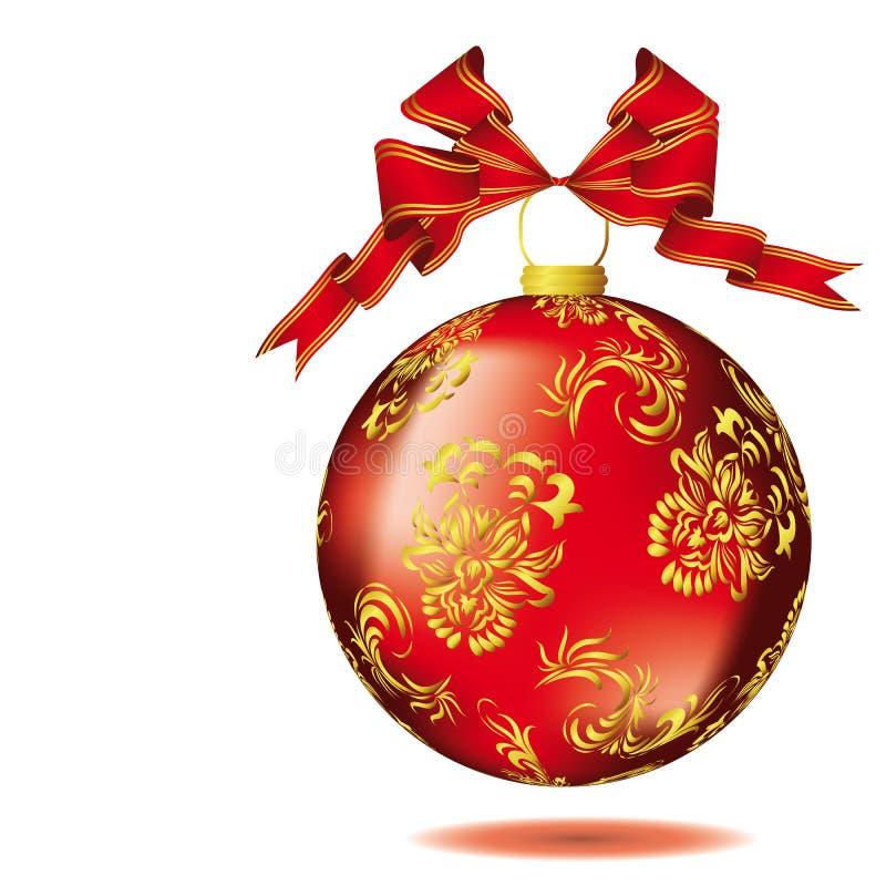 Noël de bille illustration de vecteur