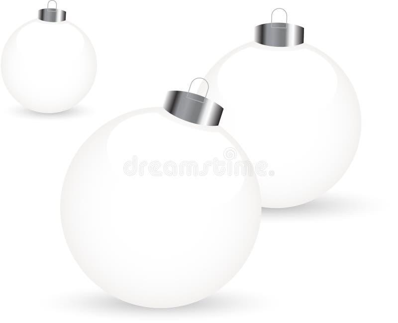Noël de billes illustration stock