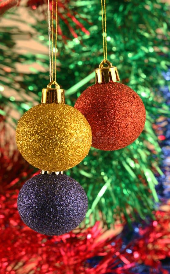 Noël de billes photo libre de droits
