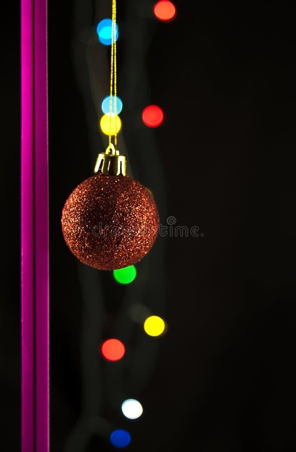 Noël de billes photographie stock libre de droits