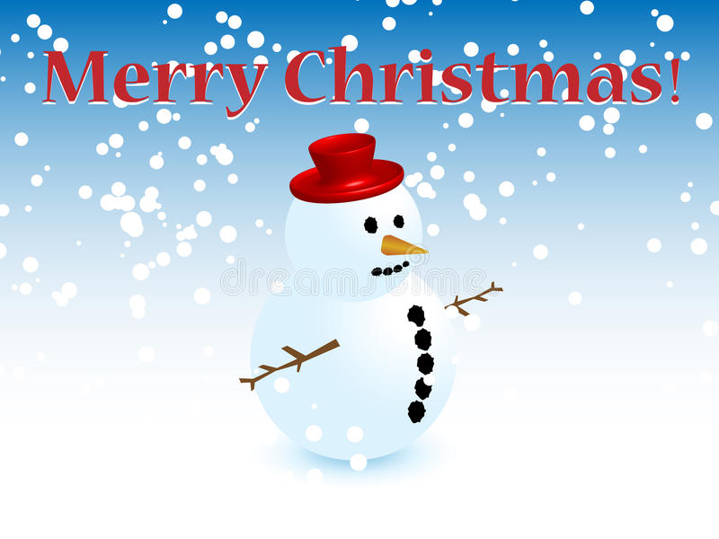 Noël de bonhomme de neige photos stock