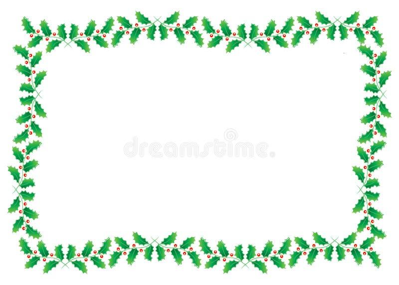 Noël de cadre illustration de vecteur