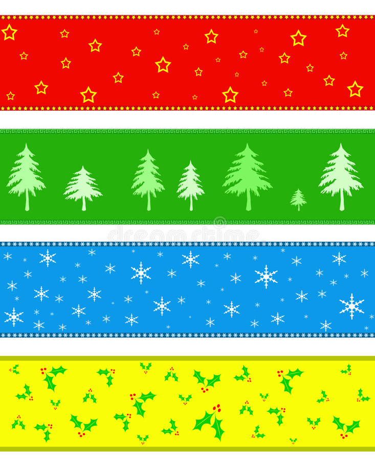 Download Noël de cadre de drapeau illustration stock. Illustration du noel - 8654640