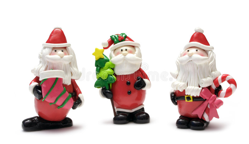 Noël de caractères photo libre de droits