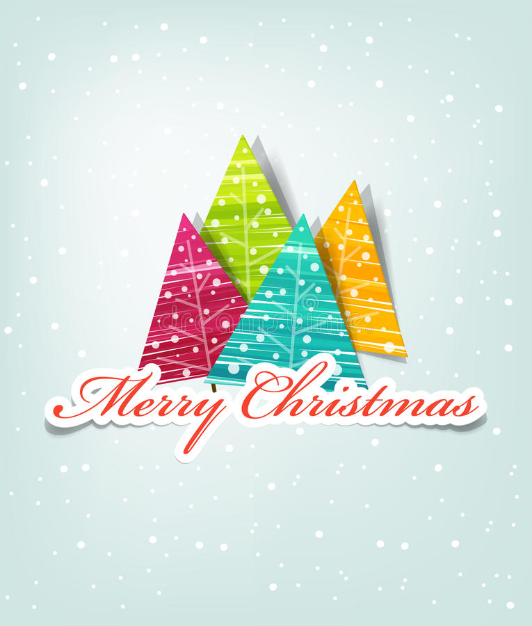 Noël de carte illustration libre de droits