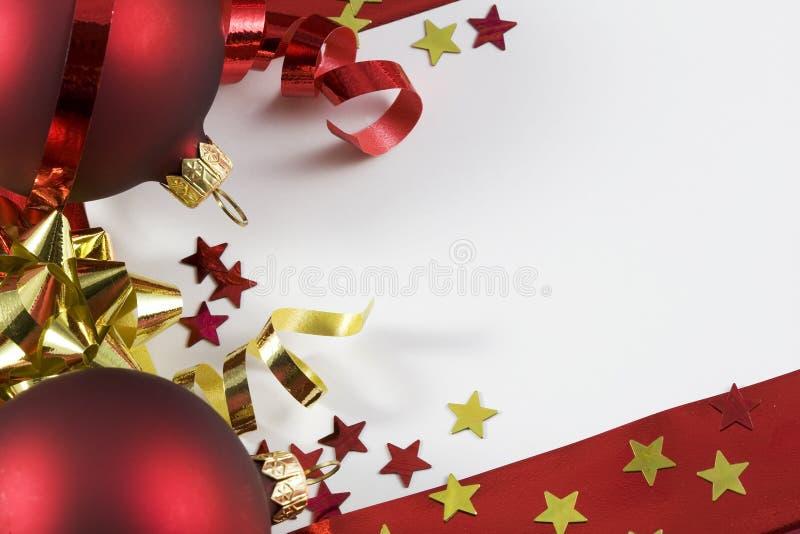 Noël de carte photographie stock