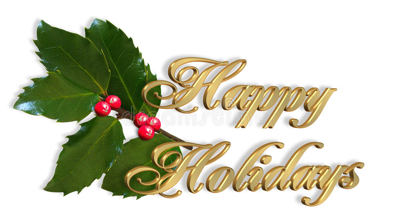 Noël de carte bonnes fêtes simple illustration stock